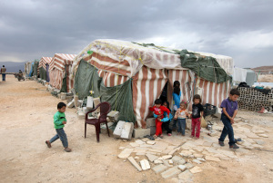 Syrian Refugee camp lebanon